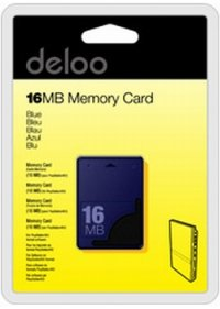Deloo 16MB Minnekort Til Playstation 2