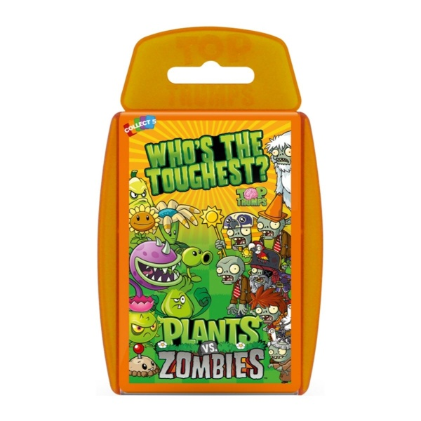 Top Trumps Plants vs Zombies Winning Moves